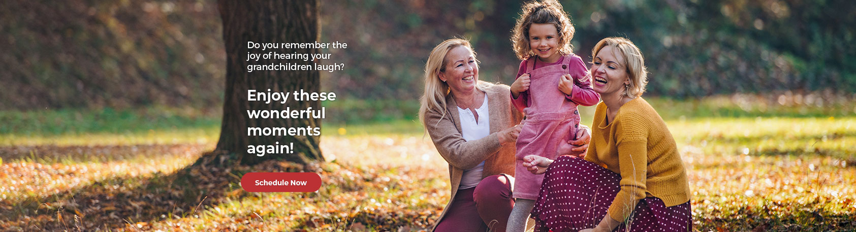 Fall Banner - Evolve Hearing Center